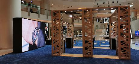 LED Display Wall for Advertising, Trade Show | P2 LED Video Wall Rental - CORUM, Element Shopping Mall