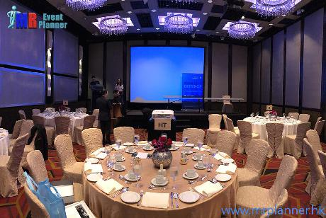 200 inches Screen Rental for Sheraton Ballroom Meeting | Projection Screen Rental HK