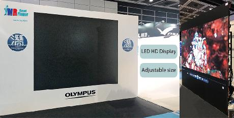 LED Video Wall Rental for The Convention Center | P2 HD LED Wall